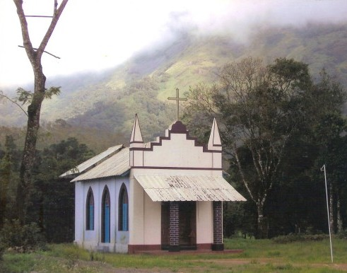 Church at Seethargundu Estate